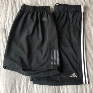 Adidas Climacool athletic shorts bundle